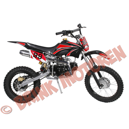 Pitbike Dirtbike kappenset orion model rood (2)