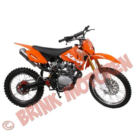 Pitbike Dirtbike kappenset 250cc XTM zonder stickers (2)