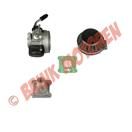 Minibike minicrosser carburateur set snel 14 mm (1)