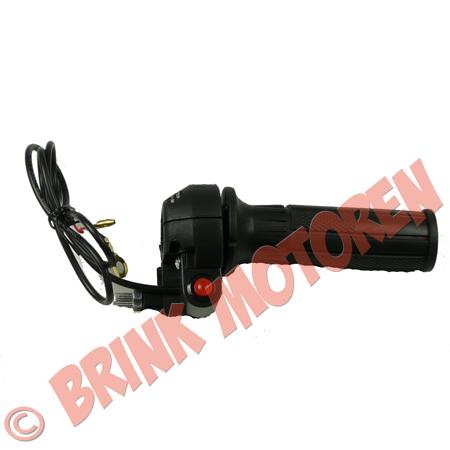 Minibike Minicrosser gashendel met stopknop (1)