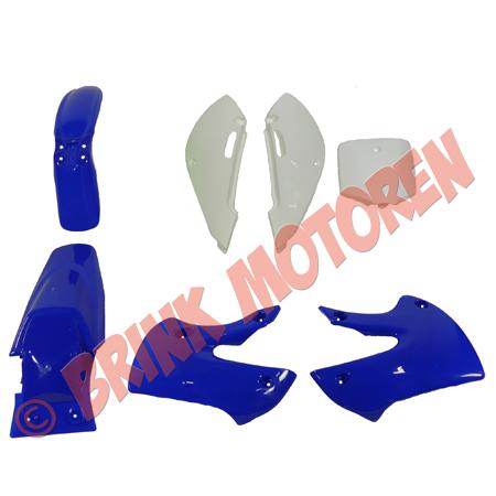 Pitbike Dirtbike kappenset blauw KLX (1)