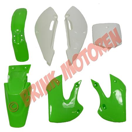 Pitbike Dirtbike kappenset groen KLX (1)