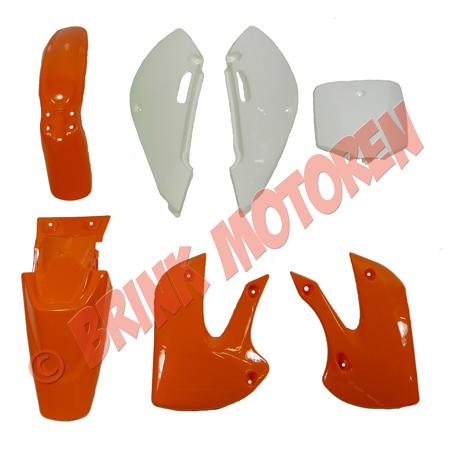 Pitbike Dirtbike kappenset oranje KLX (1)