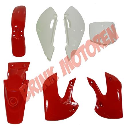 Pitbike Dirtbike kappenset rood KLX (1)