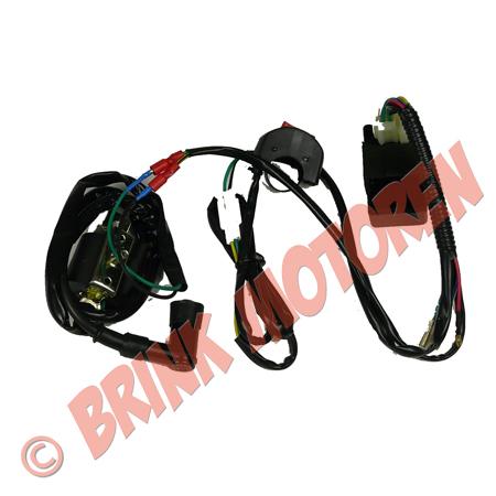Pitbike Dirtbike ATV kabelboom  (1)