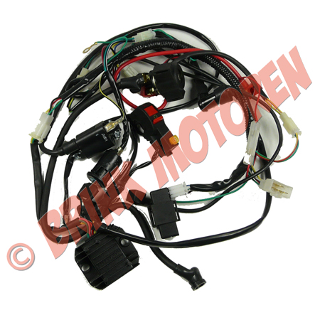 Dirtbike Quad AC kabelboom 125cc t/m 250cc  (1)