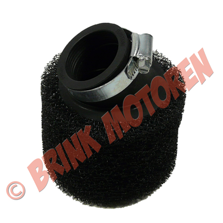 Pitbike Dirtbike luchtfilter (45 graden) sport  38/40 mm (1)