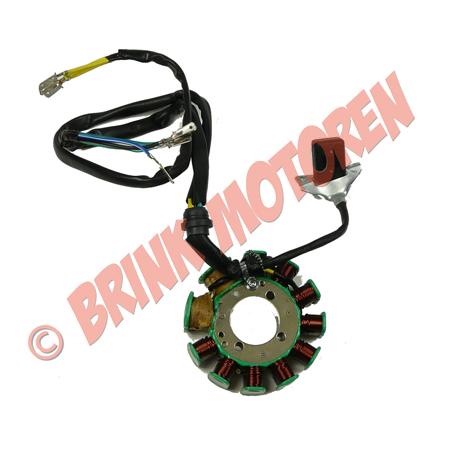 Quad ATV  Dirtbike ontsteking plaat met 11 spoelen (1)