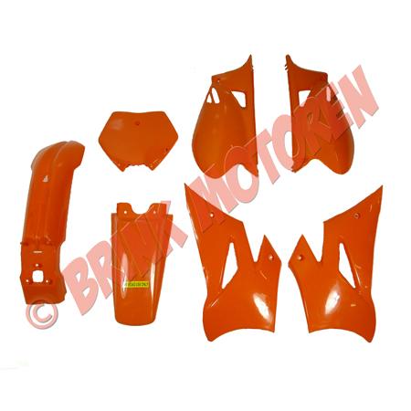 Pitbike Dirtbike kappenset voor 125cc KXD 608  oranje (1)