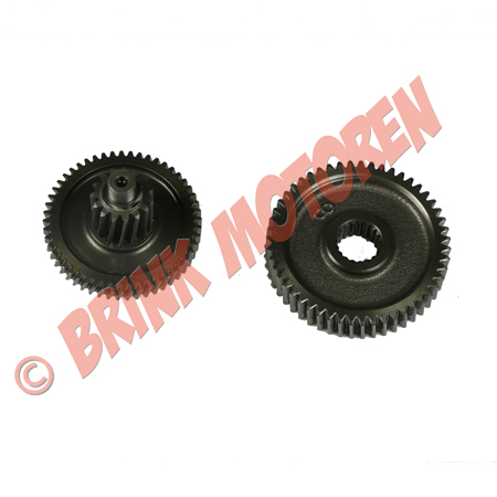 Tandwielset Gearbox GY6 50cc (1)
