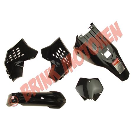 Minicrosser kappenset KXD 703 zwart (1)