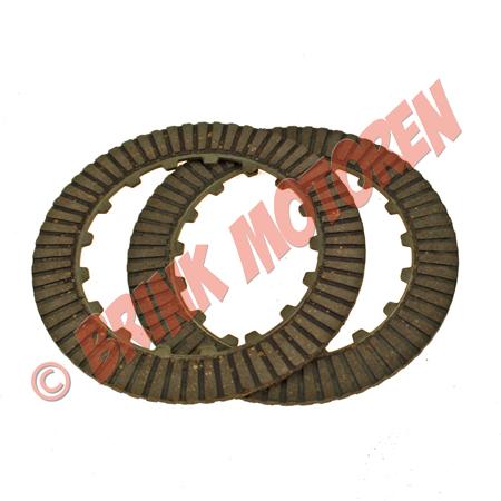Pitbike Dirtbike Quad clutch platenset 2 plaats koppeling (1)