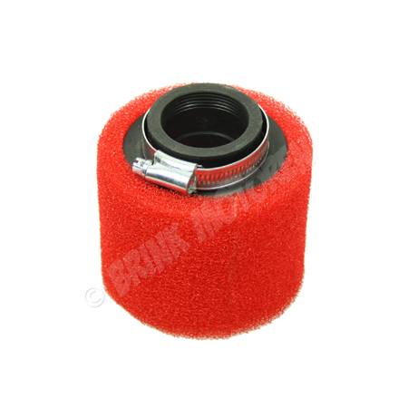 Pitbike Dirtbike ATV luchtfilter sport 42mm rood (1)