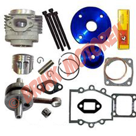 Minibike Minicrosser tuning big bore cilinder kit type 2 (1)