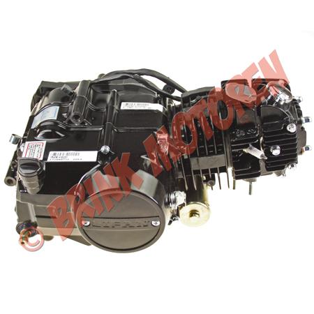 4 takt Dirtbike Brommer motor blok 125cc Lifan met E-start (2)