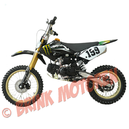 Pitbike Dirtbike BM Lifan125cc Monster energy special model (1)